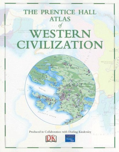 9780131932623: The Prentice Hall Atlas of Western Civilization