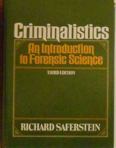 9780131932692: Criminalistics: An Introduction to Forensic Science