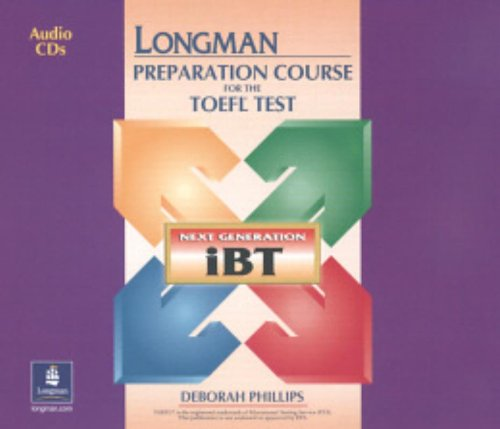 9780131933026: Longman Preparation Course for the TOEFL Test: 8 Audio CD's: The Next Generation