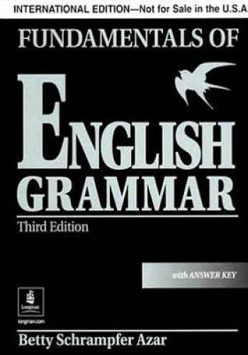 9780131933064: Fundamentals Of English Grammar With Answer Key-black: International Version
