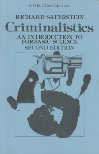 9780131933187: Criminalistics: An Introduction to Forensic Science (Instructor's Manual)