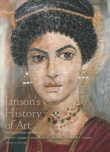 9780131934689: Janson's History of Art: Western Tradition, Volume 1