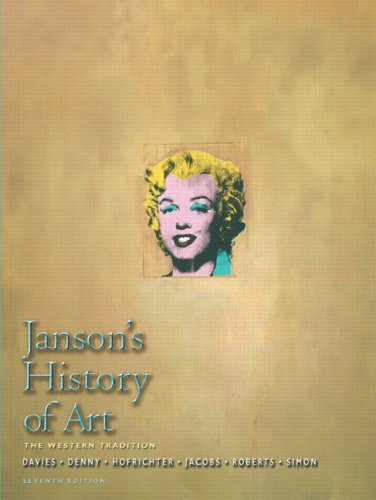 Janson's History of Art: Western Tradition, Volume: Penelope J.E. Davies,
