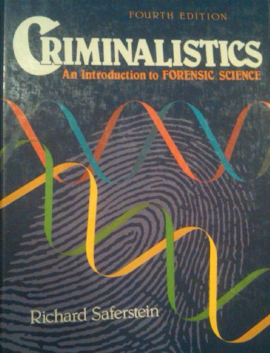 9780131935259: Criminalistics: An Introduction to Forensic Science