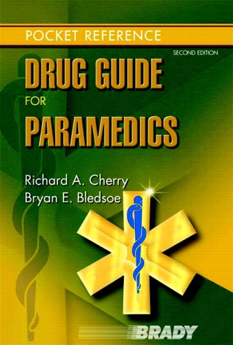 9780131936454: Drug Guide for Paramedics (2nd Edition)