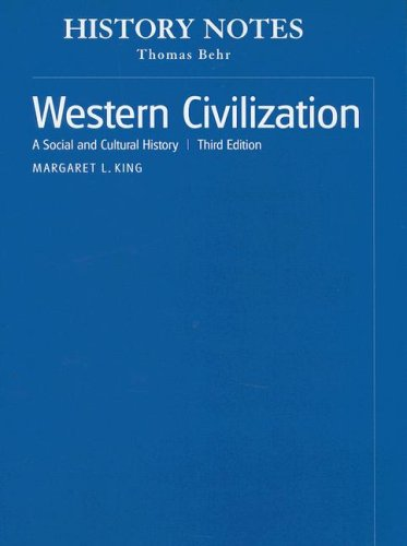 9780131936621: History Notes, Volume II for Western Civilization: A Social and Cultural History, Volume 2