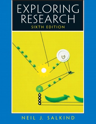 9780131937833: Exploring Research (6th Edition)
