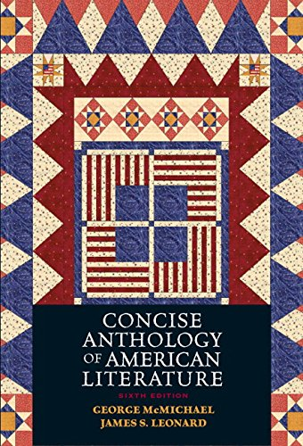 9780131937925: Concise Anthology of American Literature