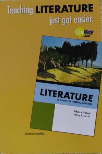 9780131938489: Literature: An Introduction to Reading and Writing