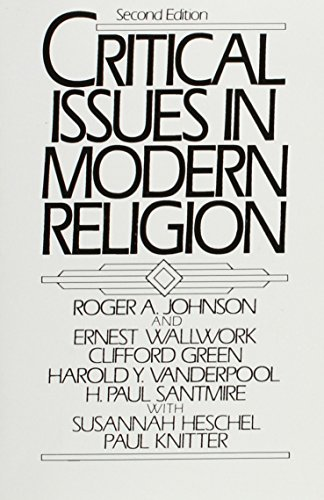 9780131939967: Critical Issues in Modern Religion (2nd Edition)