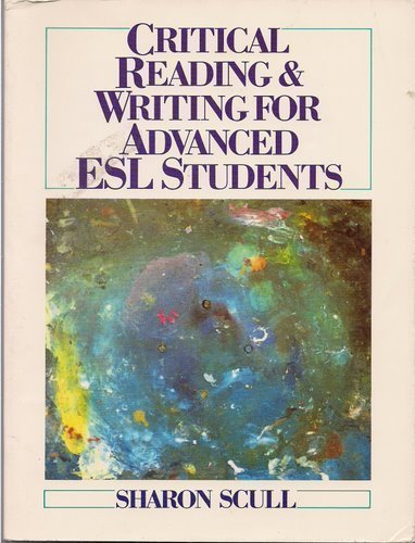 9780131940109: Critical Reading and Writing for Advanced Esl Students