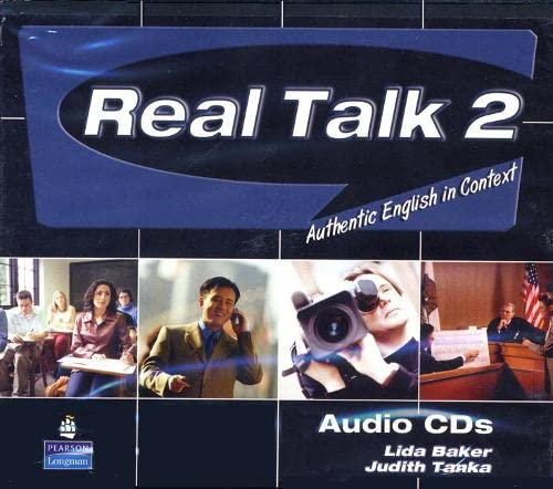 9780131940949: Real Talk 2: Authentic English in Context, Classroom Audio CD