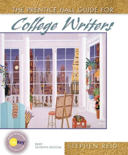 9780131941229: Prentice Hall Guide for College Writers