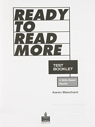 9780131941830: Ready to Read More, Test Booklet