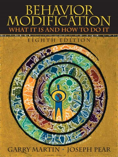 9780131942271: Behavior Modification: What It Is And How To Do It, 8th Edition