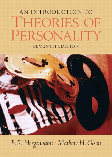 9780131942288: An Introduction to Theories of Personality (7th Edition)