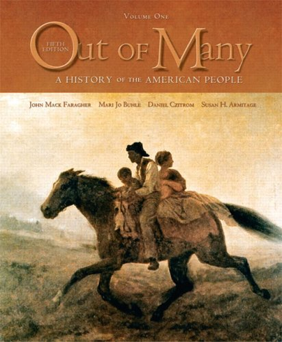 9780131944619: Out of Many: A History of the American People, Volume I (Chapters 1-16) (5th Edition)
