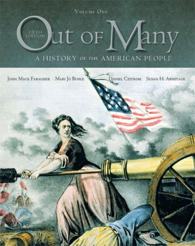 9780131944626: Out of Many: A History of the American People, Combined Edition (Chapters 1-31) (5th Edition)
