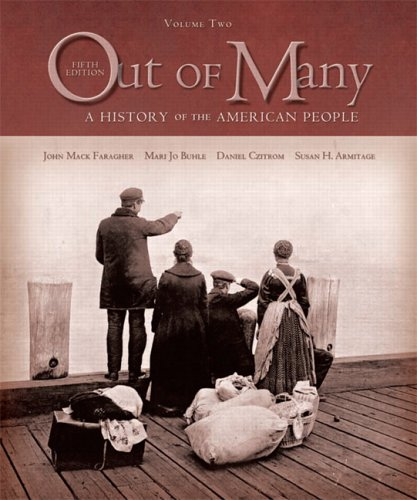 9780131944664: Out of Many: A History of the American People, Volume II (Chapters 16-31) (5th Edition)