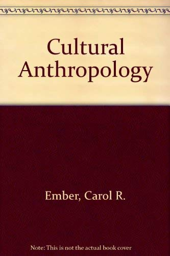 9780131945234: Cultural Anthropology