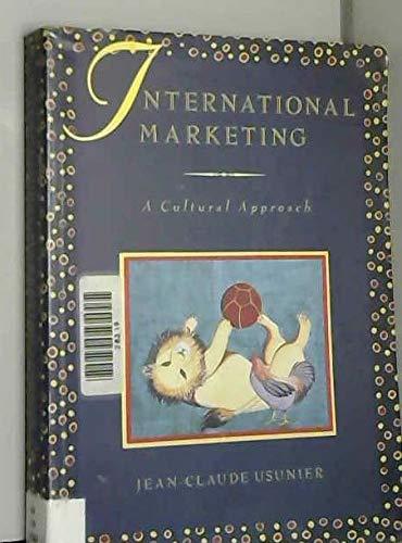 9780131945807: International Marketing: A Cultural Approach