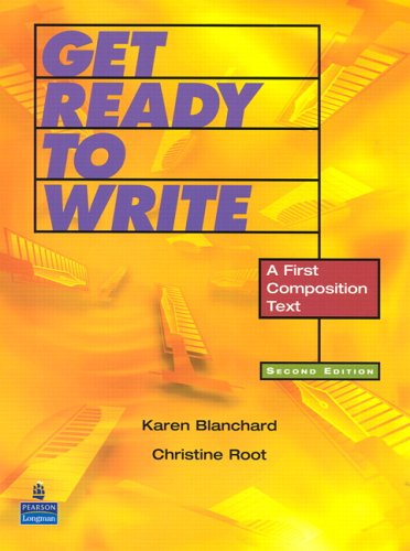 9780131946354: Get Ready to Write: A First Composition Text