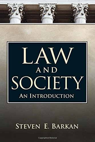 9780131946606: Law and Society: An Introduction