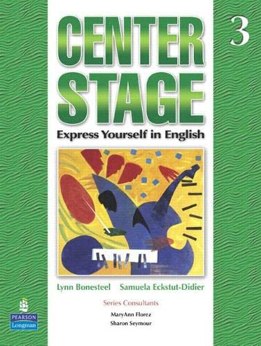 9780131947788: Center Stage 3 Student Book (Bk. 3)