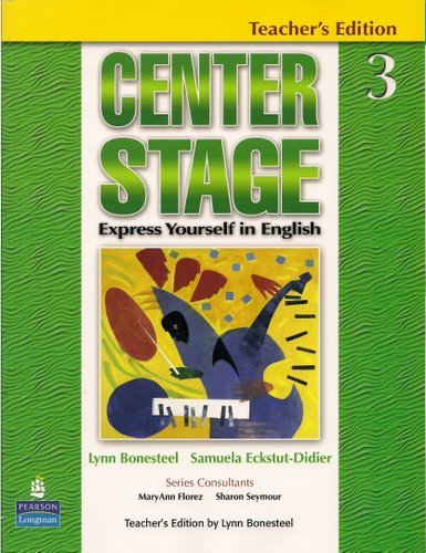 9780131947818: Center Stage: Express Yourself in English