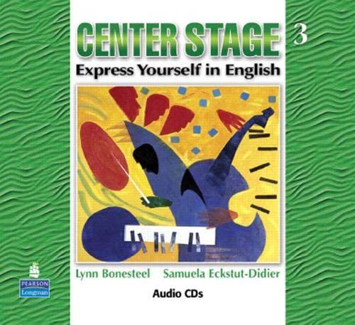 9780131947832: Center Stage 3 Audio CDs