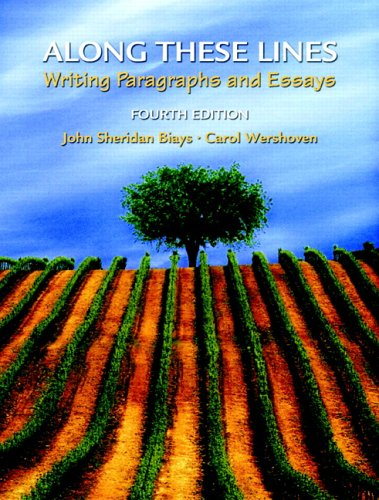 9780131948303: Along These Lines: Writing Paragraphs and Essays (4th Edition) (MyWritingLab Series)