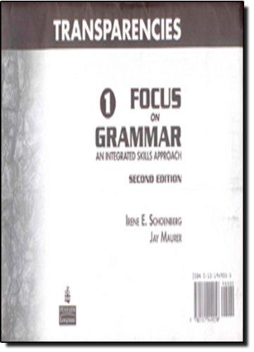 Focus on Grammar 1 Transparency