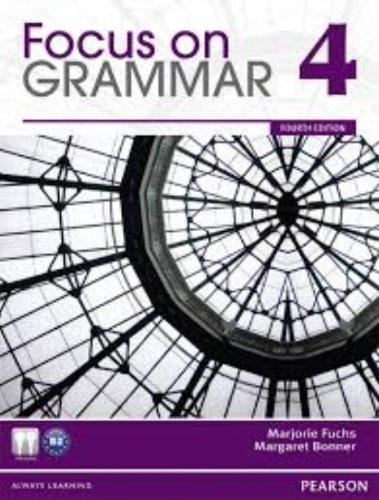 Focus on Grammar 4 Transparency