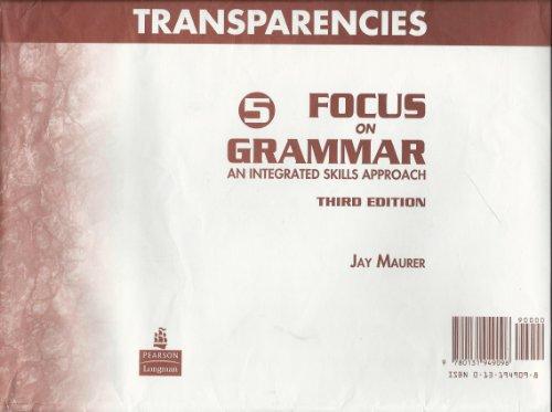 9780131949096: Focus on Grammar 5 Grammar Chart Transparencies