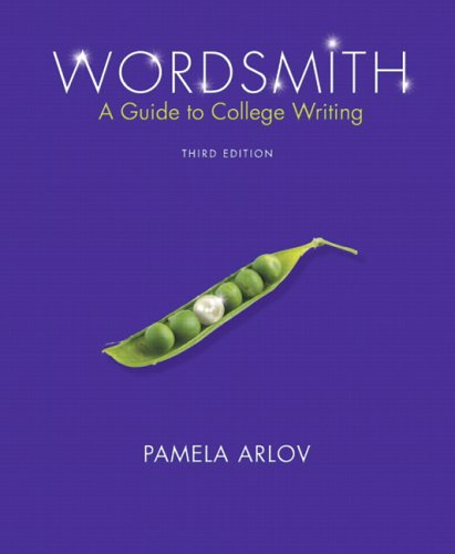 9780131949935: Wordsmith: A Guide to College Writing