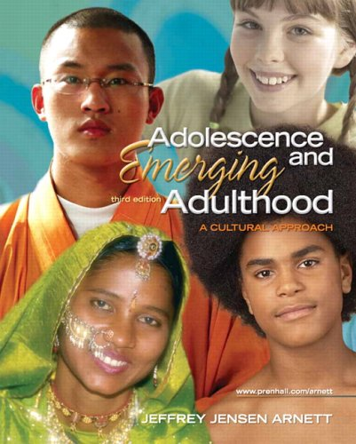 9780131950719: Adolescence and Emerging Adulthood: A Cultural Approach