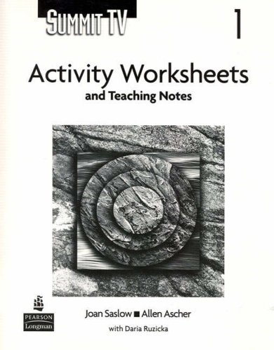 9780131950979: Summit 1 TV Activity Worksheets and Teaching Notes