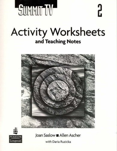9780131950986: Summit 2 TV Activity Worksheets and Teaching Notes