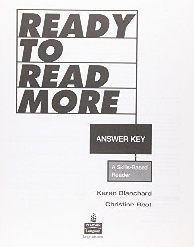 READY TO READ MORE ANSWER KEY: SIN AUTOR