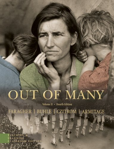9780131951280: Out of Many, TLC Volume II, Revised Printing (4th Edition)