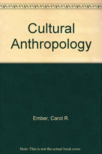 9780131952300: Cultural Anthropology