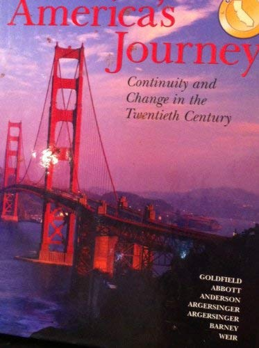 9780131955363: America's Journey Continuity and Change in the Twentieth Century Teacher's Edition