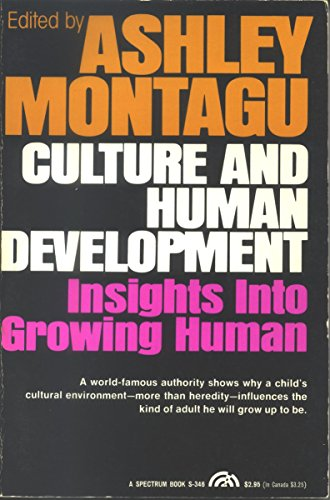9780131955608: Culture and Human Development: Insights into Growing Human (Human development books)