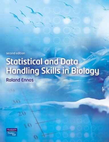 9780131955844: Statistical and Data Handling Skills in Biology (2nd Edition)