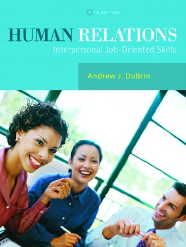 9780131956728: Human Relations: Interpersonal Job-Oriented Skills (9th Edition)