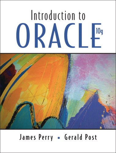 9780131957404: Introduction to Oracle 10g: Only Sold in Sets