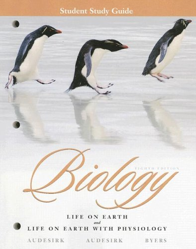 9780131957695: Biology: Life on Earth and Life on Earth with Physiology, Student Study Guide