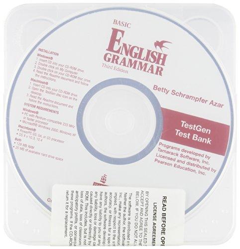 9780131959545: AZAR:BASIC ENGLISH GRAMMAR TESTGE_3