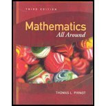 9780131959972: Mathematics All Around