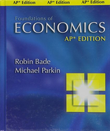 9780131960473: Foundations of Economics (Chinese Edition)